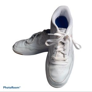Reebok classic white court sneakers shoes size 12
